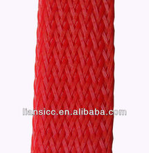 Hot Fire Resistant PET Expandable Braided Sleeving, fabric cable sleeving