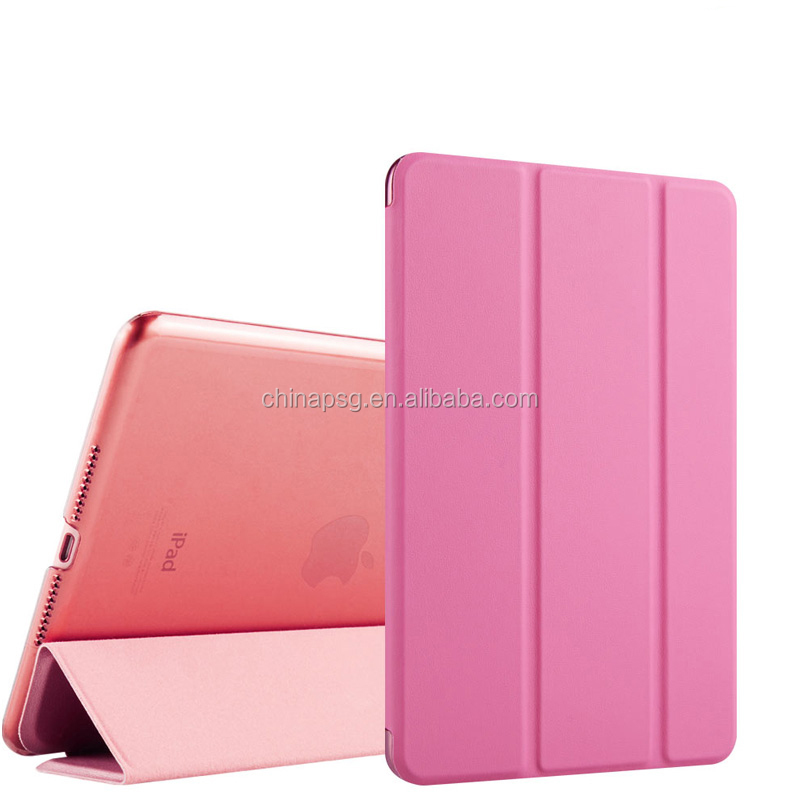 2017 Newest Arrival Case for newipad, Popular Leather Tablet pc Case for new ipad