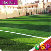 China Manufacturer environmental friendly artificial soccer grass turf, synthetic football grass