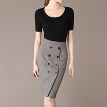 2014 Hot sell formal fancy skirts for women ladies female