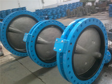 Gear Operating U type Butterfly Valves