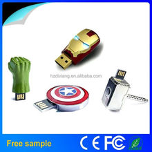 Best Selling Bulk Price Star War 2016 USB Avengers Flash Drive With Sample Free