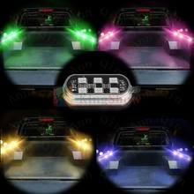Universal Motorcycle Accent Neon Underglow Brightness Multi-color RGB LED POD Light