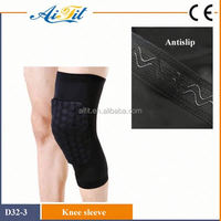 Best selling neoprene high elastic knee sleeve support/knee brace/knee pad