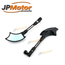 JPMotor - Motorcycle Modified 3D Machining CNC Anodized Axe Rearview Mirror