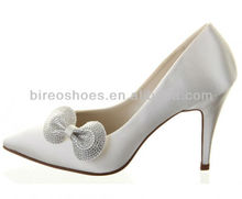 Women wedding shoes sexy point toe high hell shoes ( style no. WE075)