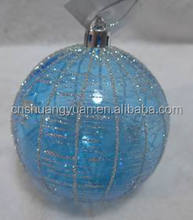 Round Clear Transparent Light Blue Baubles/Indoor&Outerdoor Xmas Hanging Balls