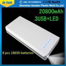 Shenzhen battery power bank 20000mah promotion charger power banks for samsung