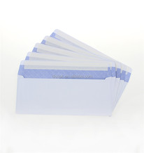 500 pcs per box Double window Business self seal Security tinted Envelope