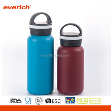 New design 12oz/16oz Outdoor Sports Vacuum insulated stainless steel water bottle with loop lid