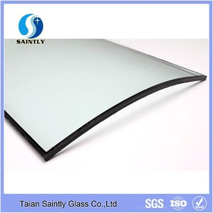 Professional make 8mm curved tempered glass price