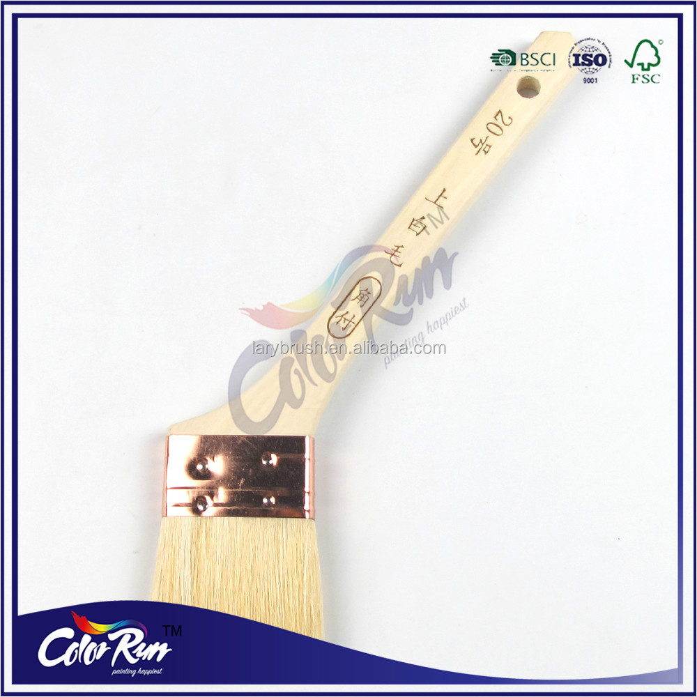 ColorRun Japan Wool Wooden Handle Paint Brush