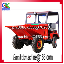 Factory direct supply 15kw mini tip lorry front loader dump truck,mini dump truck