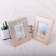 Best quality custom antique bright Textile cloth covered photo frame