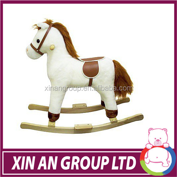 Customize Horse Plush Rocking Chair Good For Little Kids