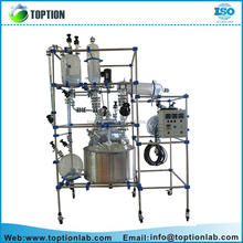 TST-150L Reaction kettle single layer glass lined reactor for sale