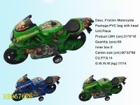 Cheap Plastic Friction Motorcycle