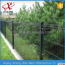 2017 High quality 3d fold wire mesh fence triangle bending fencing panels