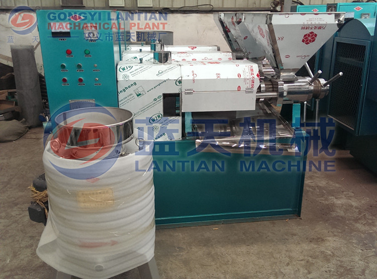 hydraulic type coconut palm olive oil cold press machine