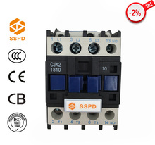 New 3 or 4 pole magnetic AC Contactor CJX2 1810, 30%-85% silver point ac contactor price /