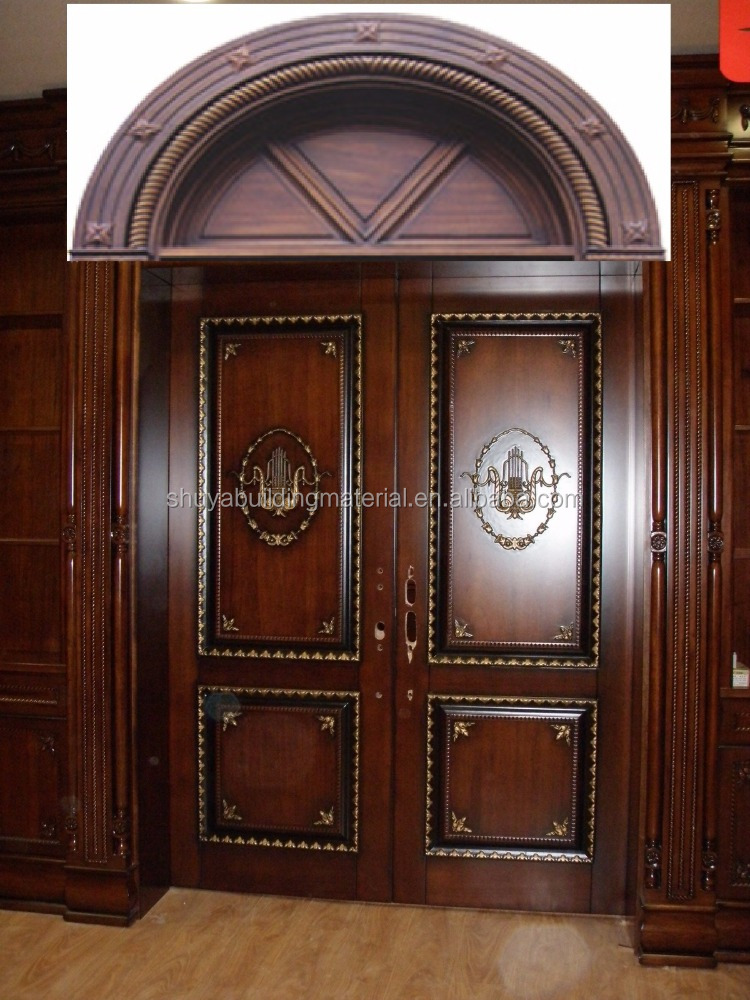 golden supplier apartment latest wooden doors design