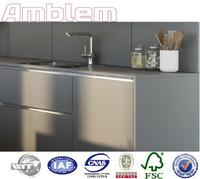 Best price grey laminate kitchen cabinets