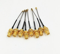 60mm Mini PCI U.FL / IPX to SMA Female GPS Antenna Pigtail Cable