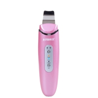 Factory skin care spatula Ultrasonic Skin Scrubber Spatula with Ionic Function for Gentle Peeling and Skin Cleaning