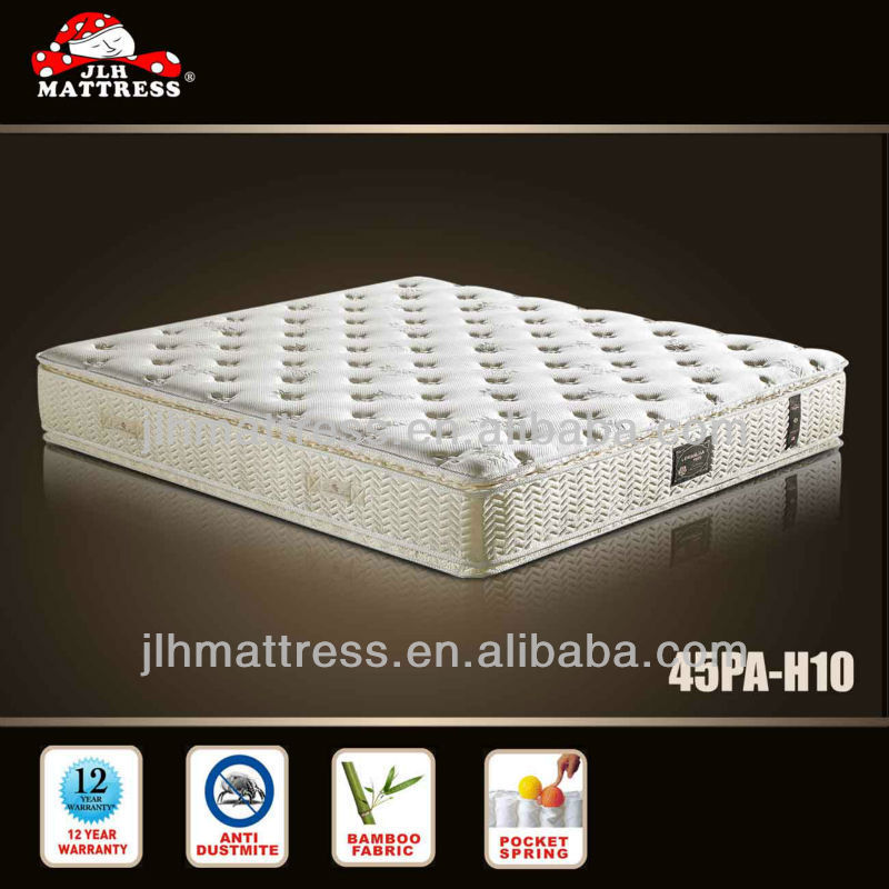 Hot selling mattress structure from china mattress manufacturer 45PA-H10