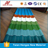 hot sale PPGI corrugated metal roofing sheet china supplier zincalume/galvalume corrugated steel