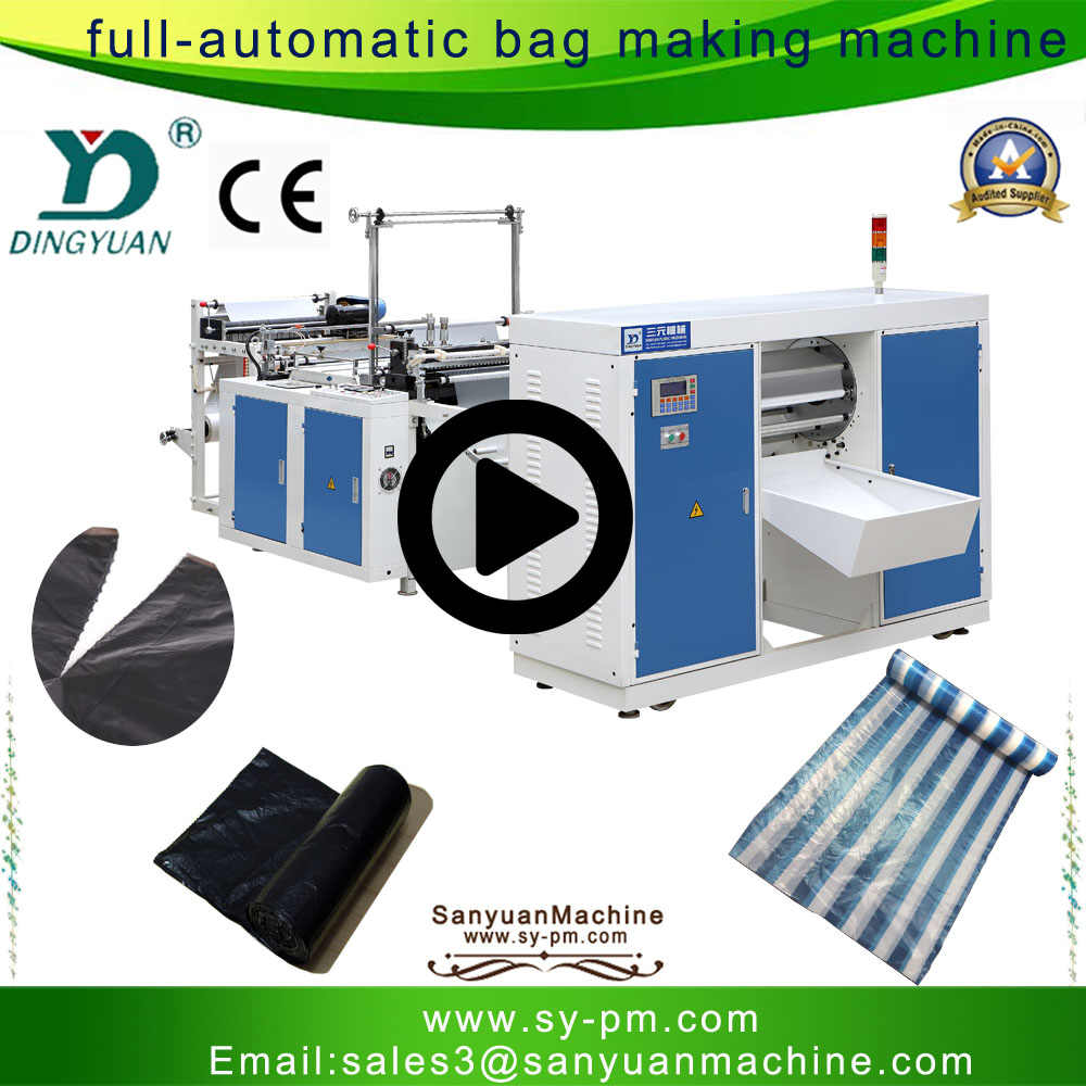 Vest Bag Making Machine Automatic Plastic Bag Manufacturing Machine Polythene Bag Making Machine Buy Polythene Bag Making Machine Vest Bag Making