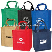 Trade show promotion nonwoven shopping bag