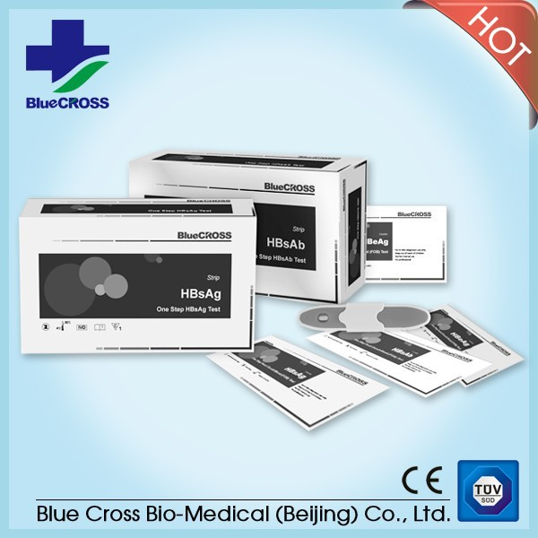 Medical Diagnostic Test Kits HBsAg Test Cassette, Home Use Hbsag Elisa Kit