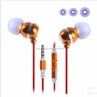 In-ear MP3 designer walkie talkie cheap fashion earphone