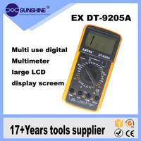 2016 Best Excel Digital Multimeter manual dt9205a