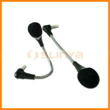 Internet Telephone Chat Computer Microphone Metal Gooseneck Notebook Plug and Play Microphone