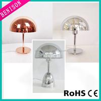 2016 wholesale Modern led Table Lamp electroplating copper / chrome plating metal Desk Lamp Reading Writing Table Light item