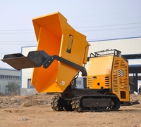 made in china hydraulic controls high efficiency mini dumper truck dump truck