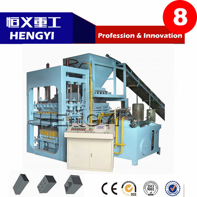 High Quality QT4-15 color concrete cement curb paver block making machine price