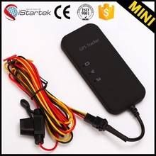 Istartek Engine stop car gps tracker with online web based software sos/geo-fence/acc alarm/remotely engine stop function