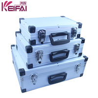 Wholesale China Factory Silver Waterproof Aluminium Toolbox With Foam