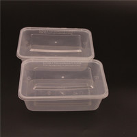 650ml disposable plastic takeaway container / 500ml - 1000ml takeaway food container