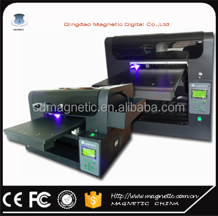 A3 inkjet eco solvent universal pvc/id card digital inkjet printer