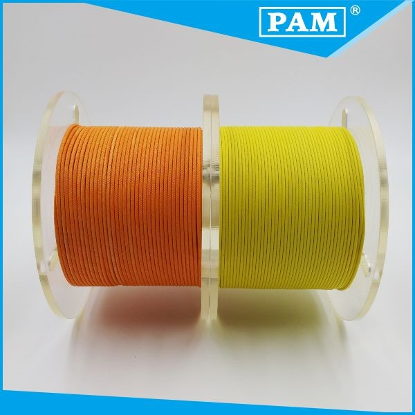Used in electrical home appliances AWM 3122 fiberglass braid silicone rubber insulation wire