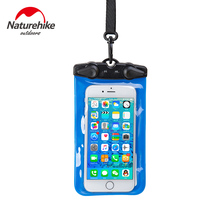 Touch-screen universal mobile phone waterproof bag touch 6plus Waterproof Case underwater camera drifting