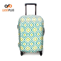Luckiplus Waterproof Luggage Cover For 18-32 Inch Luggage Clear Printed Trolley Case Cover