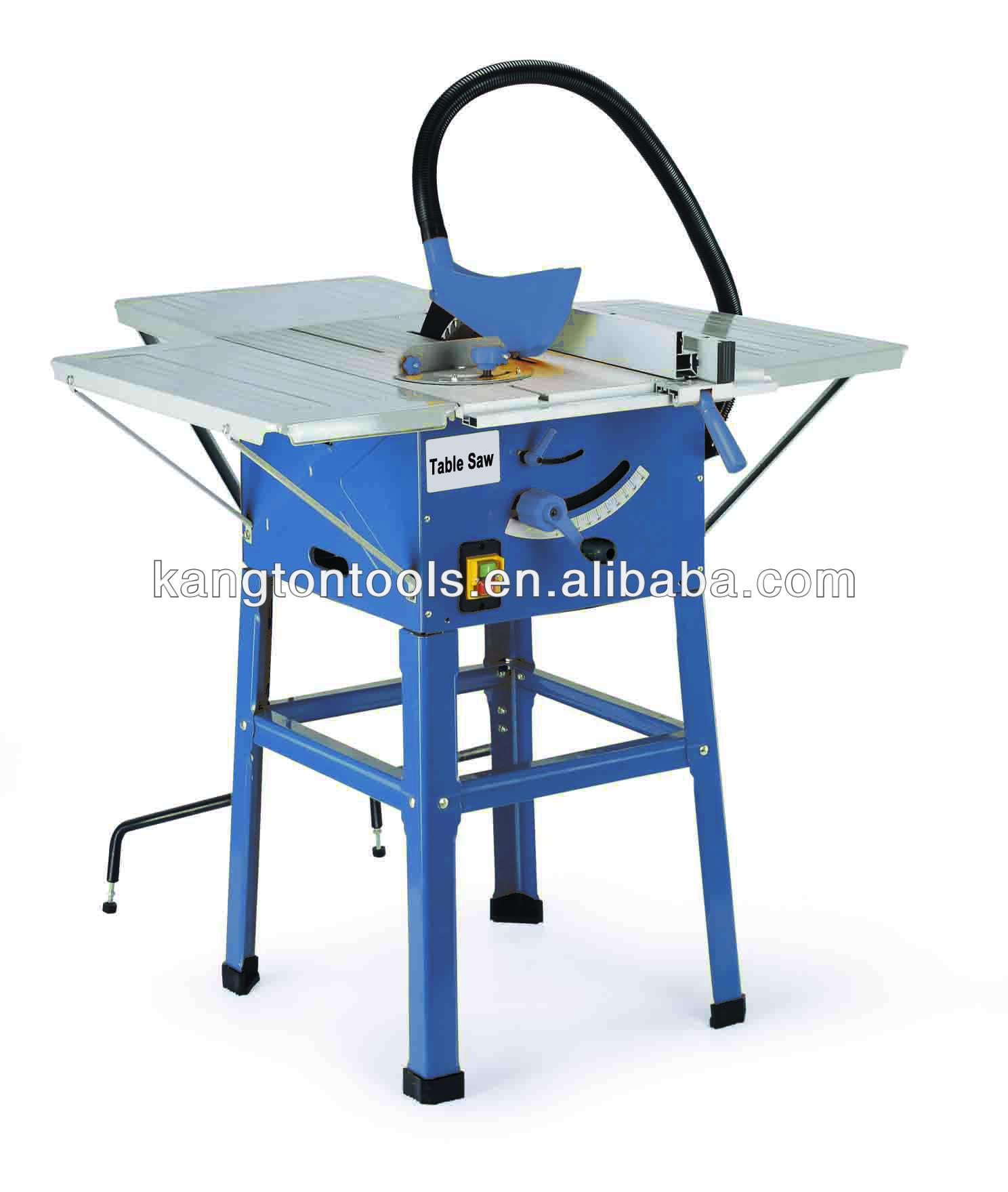 Compound miter saw table saw