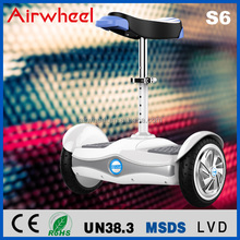 Max. speed 17km/h balancing electric scooter S6 two wheel for green travel