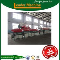 High efficient peach water washing drying machine