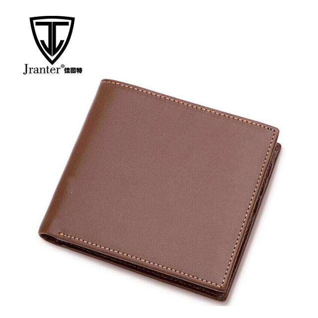 Custom Logo/Brand Name Leather Wallet Purse Men Slim Leather Wallet